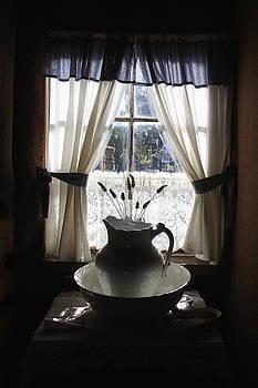 Wash basin and jug by Ian  Ramsay