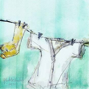 Wash line by Gilberto De Martino