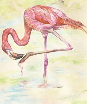 Washable Pink by Meagan  Visser