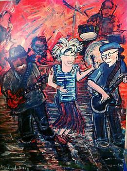 Washboard Jo Guitar Shorty and good ol Steve by Richard  Hubal