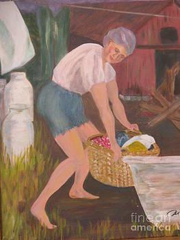 Washerwoman by Phyllis Norris