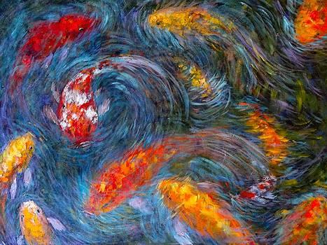 Washington Koi by Charles Munn