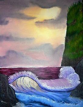 Washington Ocean Sunset by Jared Swanson