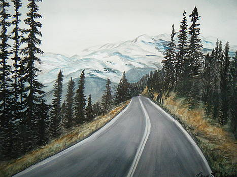 Washington State Drive by Nancy L Jolicoeur