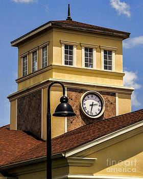 Watch the Clock Tower by Imani  Morales