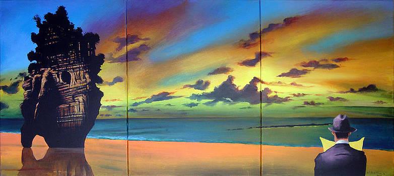 Watcher on the Beach by Geoff Greene