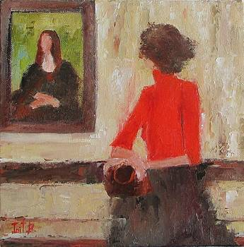 Watching Mona by Irit Bourla