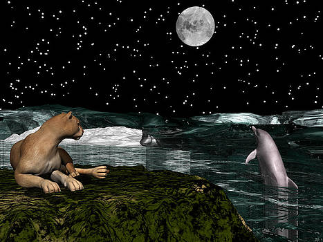 Watching the Moon by Michele Wilson