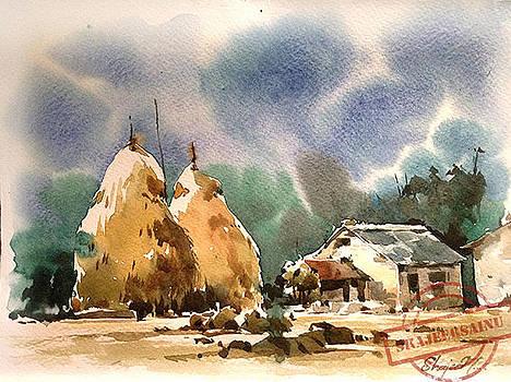 Water Color Painting by Shajeersainu Sainu