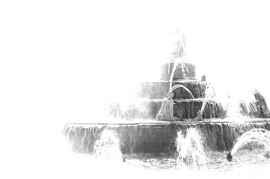 Water dream in Versailles by Peter Falkner