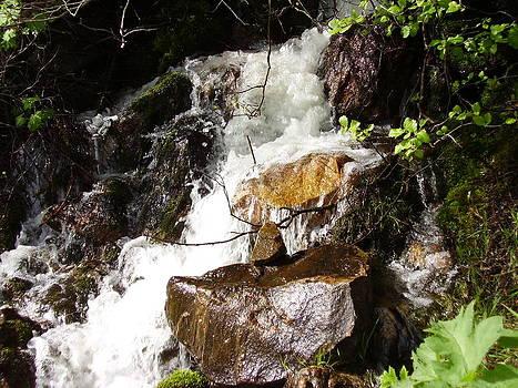 Water Fall by Yvette Pichette