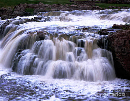 Water Falls Of The Big Sioux River by Tina Hailey