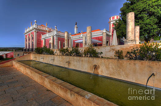English Landscapes - Water Feature Palacio de Estoi