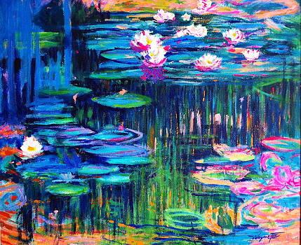 Water Lilies #3 by Wayne Fair