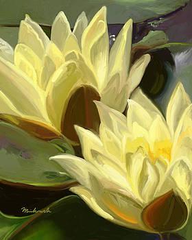 Water Lily One by Linda Minkowski