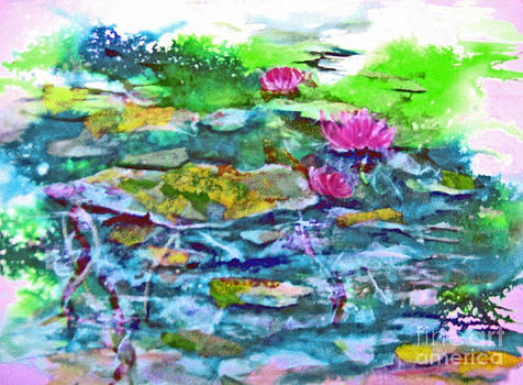 Water Lily Series V by Betty Pinkston