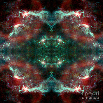 Water Mark Abstract Space Art by Animated Sentiments