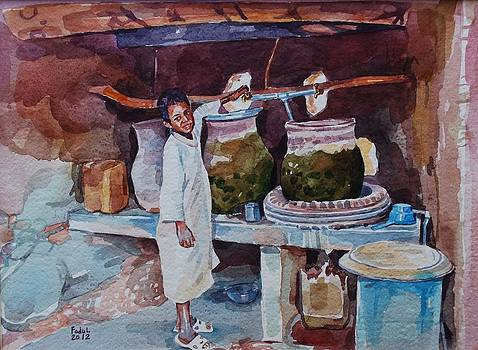 Water Pottery by Mohamed Fadul