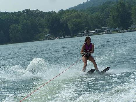 Water Skiing is Fun by Lila Mattison