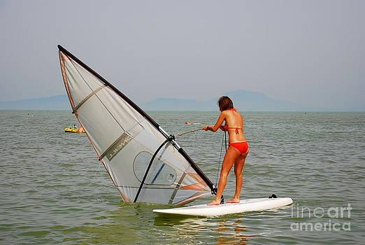Joe Cashin - Water sport on Lake Balaton