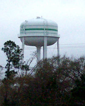 Water Tower by De Beall