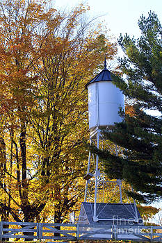 Water tower by Kathy DesJardins