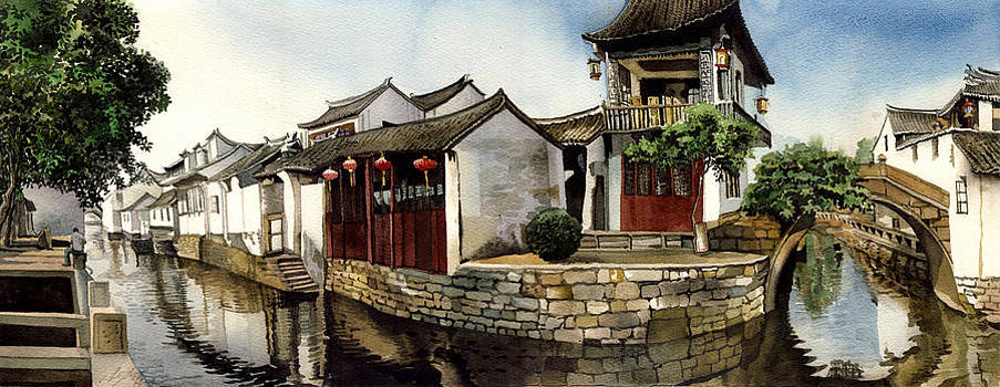 Alfred Ng - Water village Shanghai China