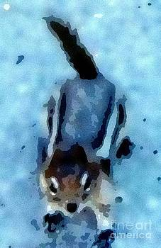 Gail Matthews - Watercolor Chipmunk