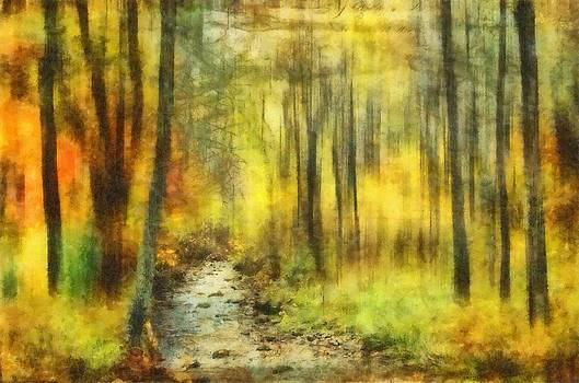 Watercolor Fall by Kathy Jennings