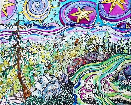 Watercolor Landscape Fun by Emily Michaud