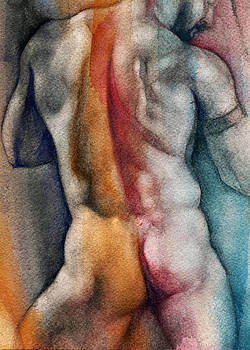 Watercolor Study 10 by Chris Lopez