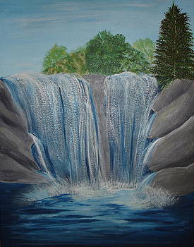 Waterfall by Angie Butler