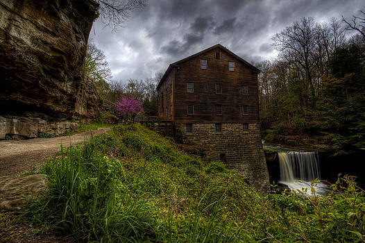 Waterfall at the Old Mill by David Dufresne