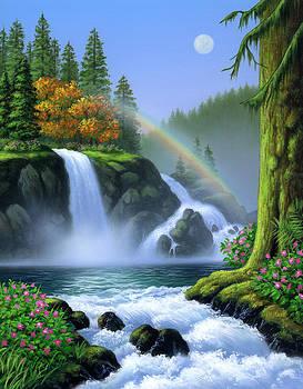 Waterfall by Jerry LoFaro