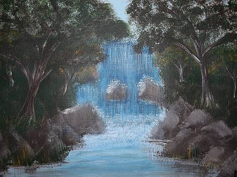 Waterfall by Michelle Treanor