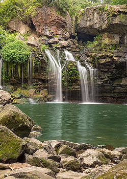 Waterfall Paradise 02 by Cindy Haggerty