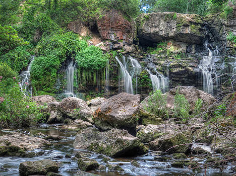 Waterfall Paradise 06 by Cindy Haggerty
