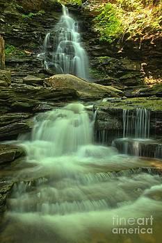 Adam Jewell - Waterfalling Through Ricketts Glen