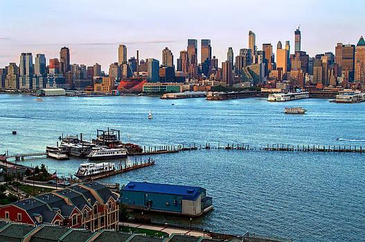 Waterfront and Skyline by Andrew Kazmierski