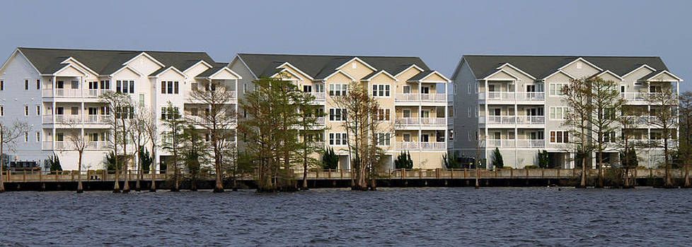 Waterfront Town Homes by Carolyn Ricks