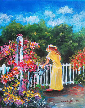 Watering Can by Carole Powell