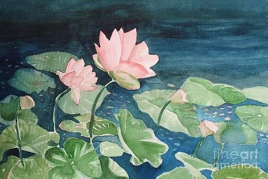 Marilyn Jacobson - Waterlilies 2