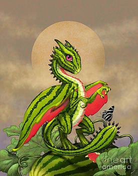 Watermelon Dragon by Stanley Morrison