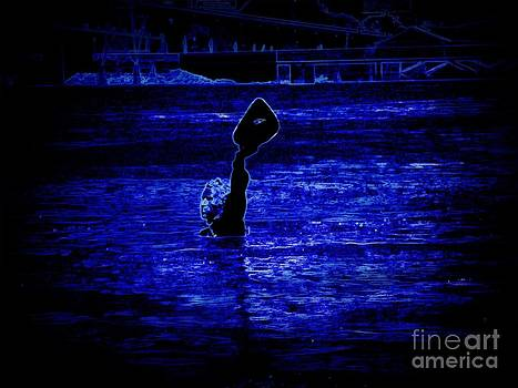 Water's Up in Neon Tweaked by Kelly Awad