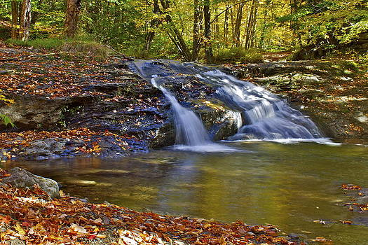Waterville Waterfall by Alice Mainville