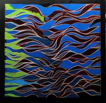 Waves by Adalardo Nunciato  Santiago