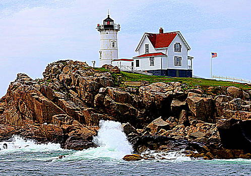Waves on the Nubble by Suzanne DeGeorge