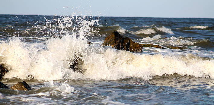 Waves Rush In by Kay Mathews