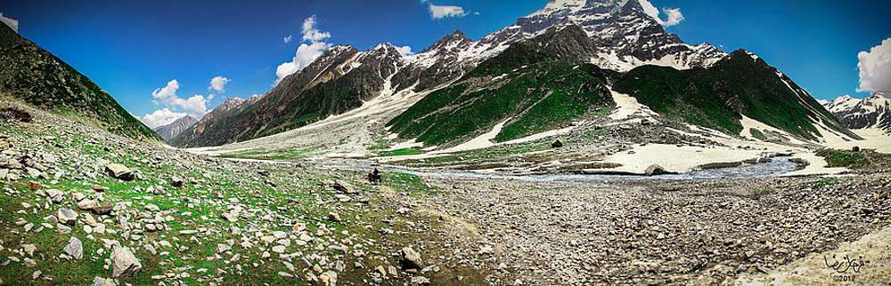 Way to Ansoo Lake by Farhan Raza Naqvi