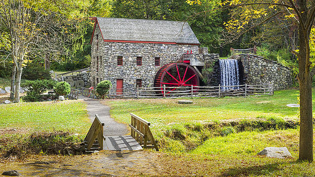 Wayside Inn Grist Mill by Kyle Wasielewski